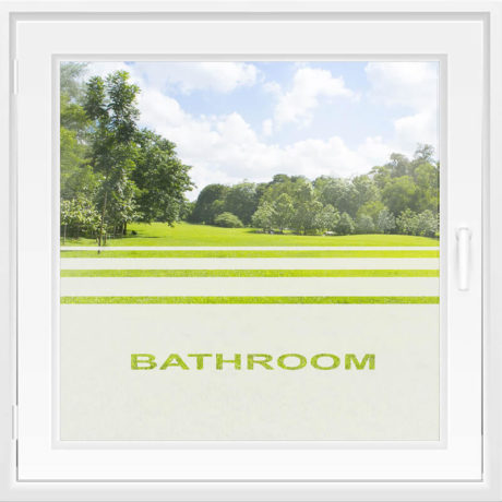 Fensterfolie WiT 102 A – Bathroom
